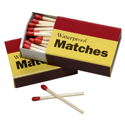 Match Light Peterson Real Fyre