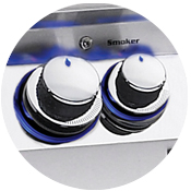 Diamond Series Backlit Safety Knobs